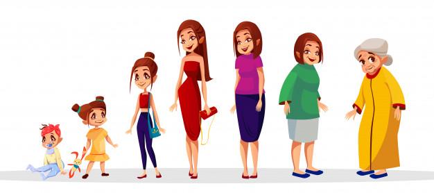 illustration-age-femme-du-cycle-generation-feminine-etapes-vie-femmes_33099-282